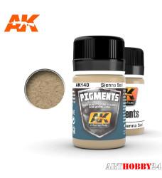 AK-140 Sienna Soil Pigment (Почва сенны)