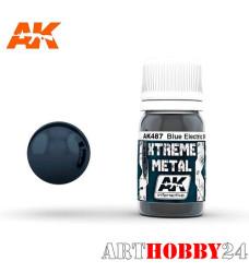 AK-487 Xtreme Metal MetallicC Blue