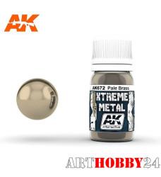 AK-672 Xtreme Metal Pale Brass