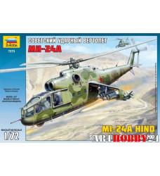 7273 Советский ударный вертолет Ми-24А