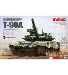 TS-006 Russian Main Battle Tank T-90A