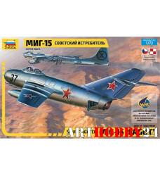 """7317 Советский истребитель """"МиГ-15"""""""