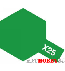 81525 Х-25 Сlear Green (Прозр. зеленая) акрил