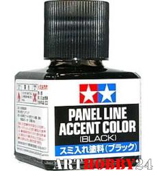 87131 Краска для финальной отделки модели (черная,40мл)