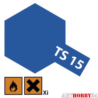 85015 TS-15 Blue (Синяя) краска-спрей в баллон. 100 мл.