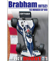 B20003 Brabham BT52 1983 Monaco GP Ver.
