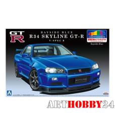00859 Nissan Skyline GT-R V-Spec 2 (Bayside Blue)