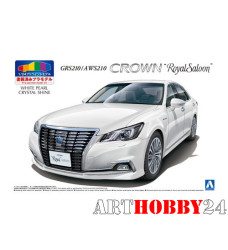 05082 Toyota Crown Hybrid Royalsaloon GRS210 (White Pearl Crystal Shine)