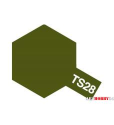 85028 TS-28 Olive Drab 2 - краска-спрей в баллон. 100 мл