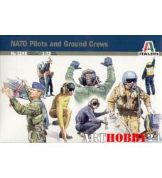 1246 солдаты  NATO PILOTS AND GROUND CREW