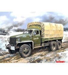 35514 Studebaker US6 U4 с тентом, лебедкой