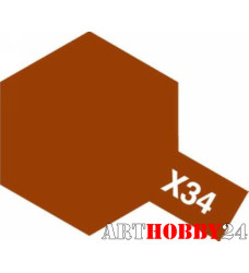 80034 X-34 Metallic Brown (Коричневый металлик)