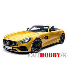 183451 Mercedes Benz AMG GT C Roadster (R190) 2017 Yellow Metallic