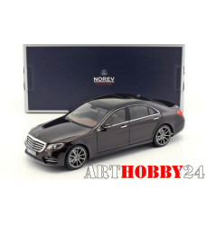 183483 Mercedes Benz S-Class AMG-Line (V222) 2018 Ruby Black Metallic