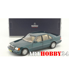 183593 Mercedes-Benz S600 (W140) 1997 Green Metallic