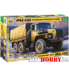 """3654 Российский армейский грузовик """"Урал-4320"""""""