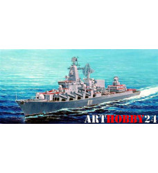 """корабль ракетный крейсер """"Варяг"""" (1:350)"""