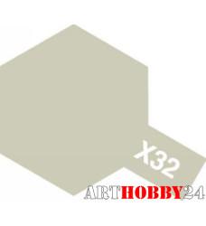 80032 X-32 Titanium Silver (Титан серебристая)