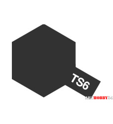 85006 TS-6 Matt Black (Черная матовая) краска-спр.100мл.