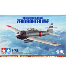 60784 Mitsubishi A6M3 Zero Fighter Model 32 (Hamp)