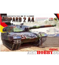 TS-016 German main battle tank Leopard 2 A4