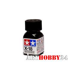 80018 X-18 Semi Gloss Black (Полуматовая черная)