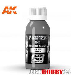 AK-758 Grey Primer And Microfiller (грунт серый)