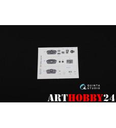 QD35002 3D Декаль интерьера кабины ГАЗ-66