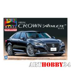 00851 Toyota Crown Athlete GRS214 '12 (Black)